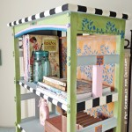 Charming Painted Bookcase Tutorial