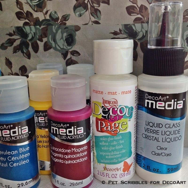 DecoArt Mixed Media supplies