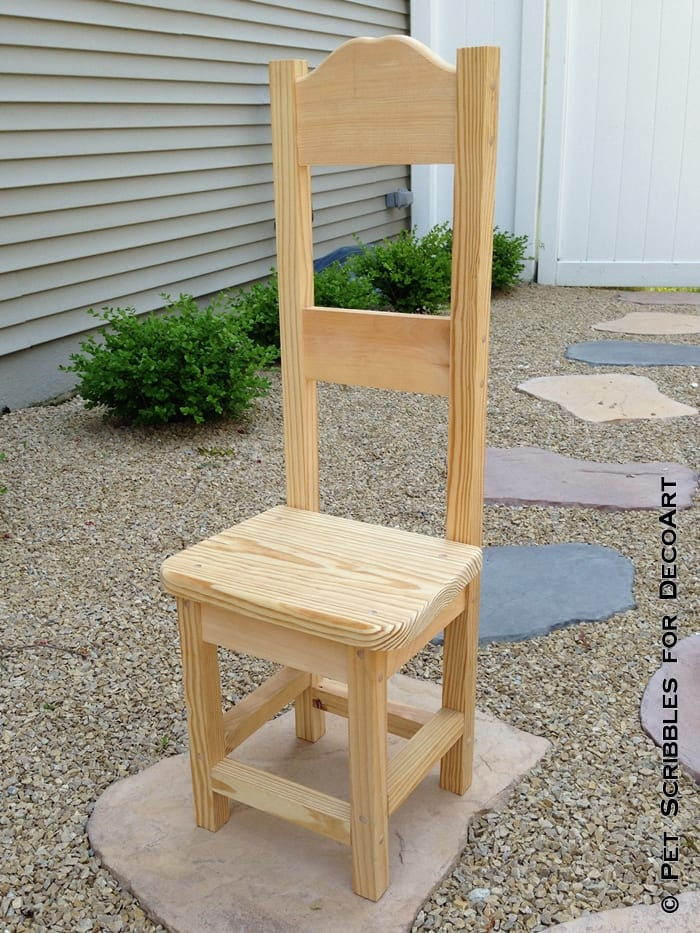 Home Depot Decorative High Back Chair