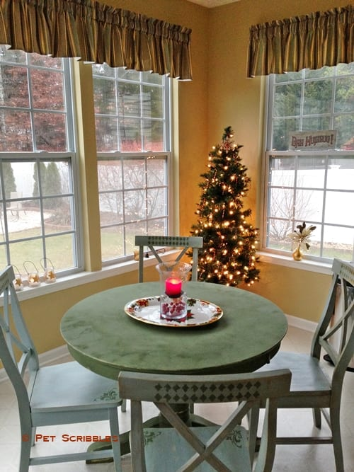 Breakfast Room Christmas
