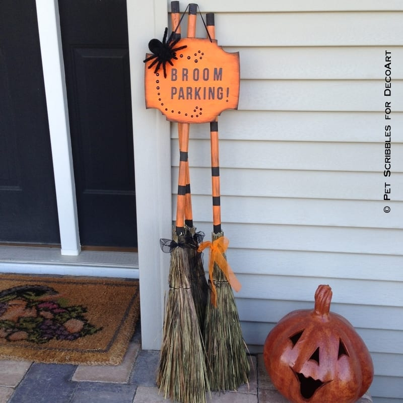 Broom Parking Display