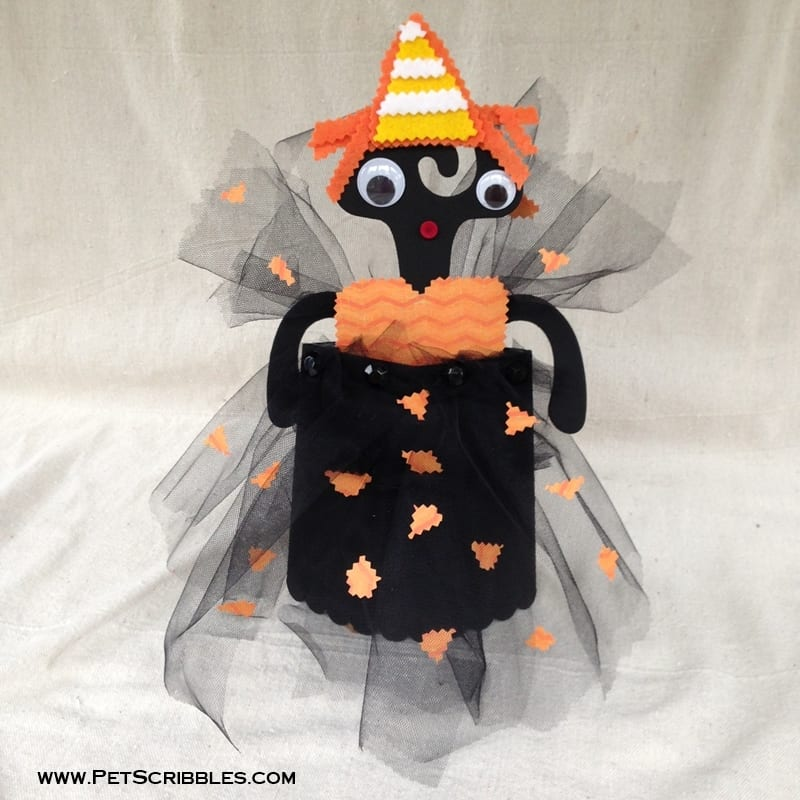 Popcorn Box Halloween Doll