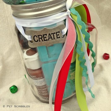 Gift in a Jar for Painters