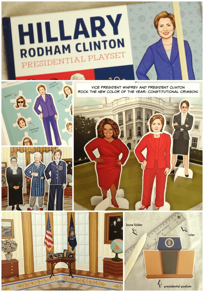 Hillary Clinton Presidential Playset