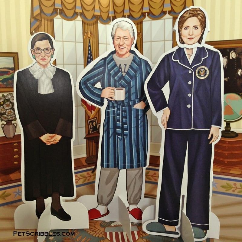 Hillary Clinton paper dolls