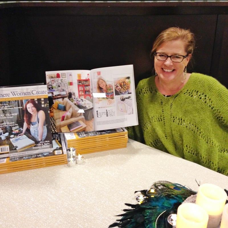 Laura Kelly Walters in Where Women Create Magazine