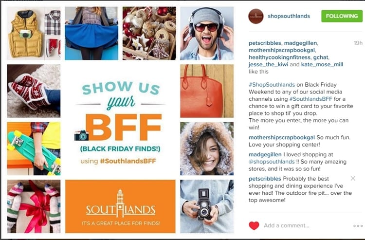 Shop Southlands on Instagram