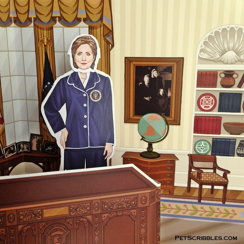 presidential desk from the Hillary Rodham Clinton Presidential Playset
