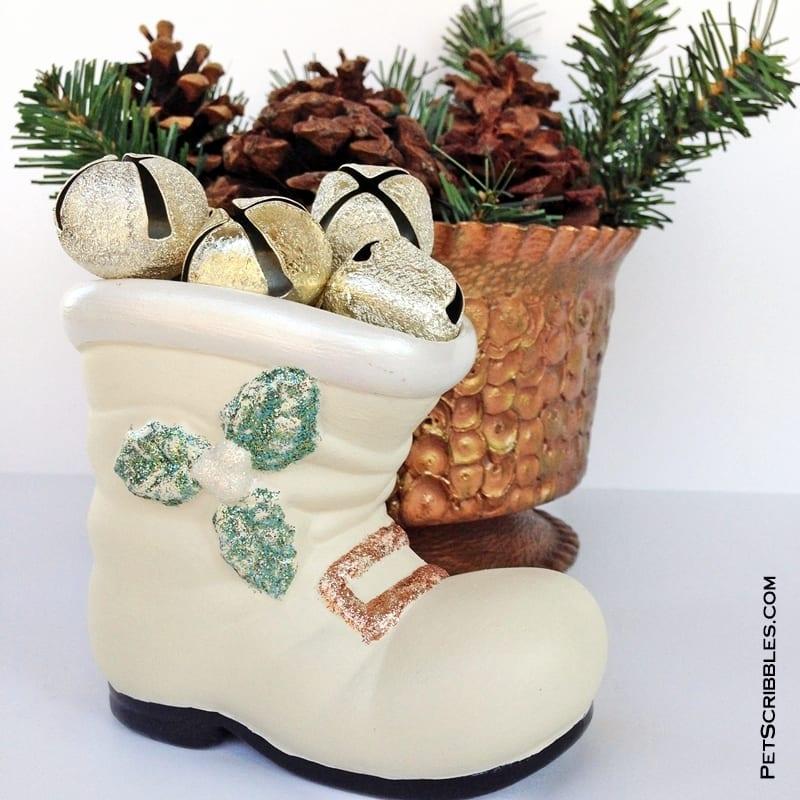 Christmas Santa Boot