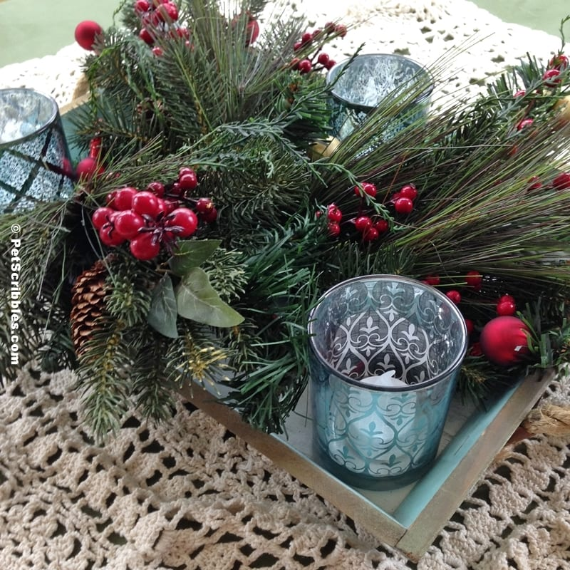 Christmas Tray Decoration