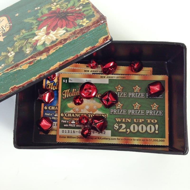 NJ Lottery Holiday Cheer Tickets