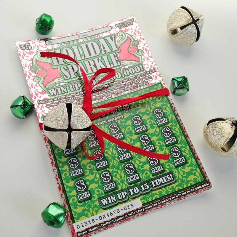 NJ Lottery Holiday Sparkle Tickets