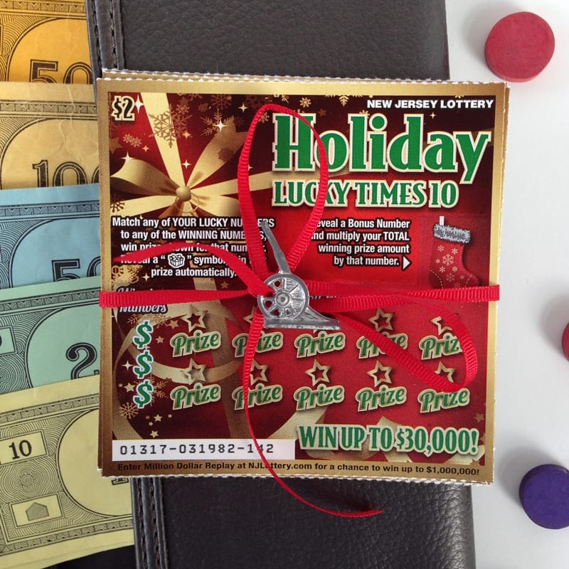 NJ Lottery Tickets for the Holidays