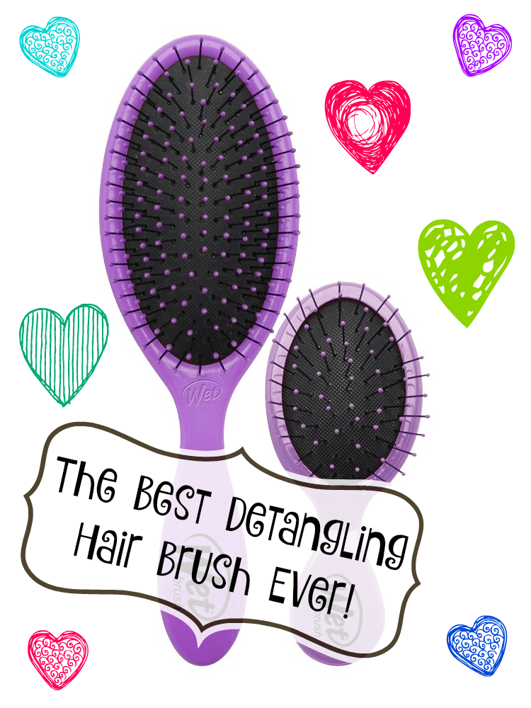 The Wet Brush is the best detangling brush ever!