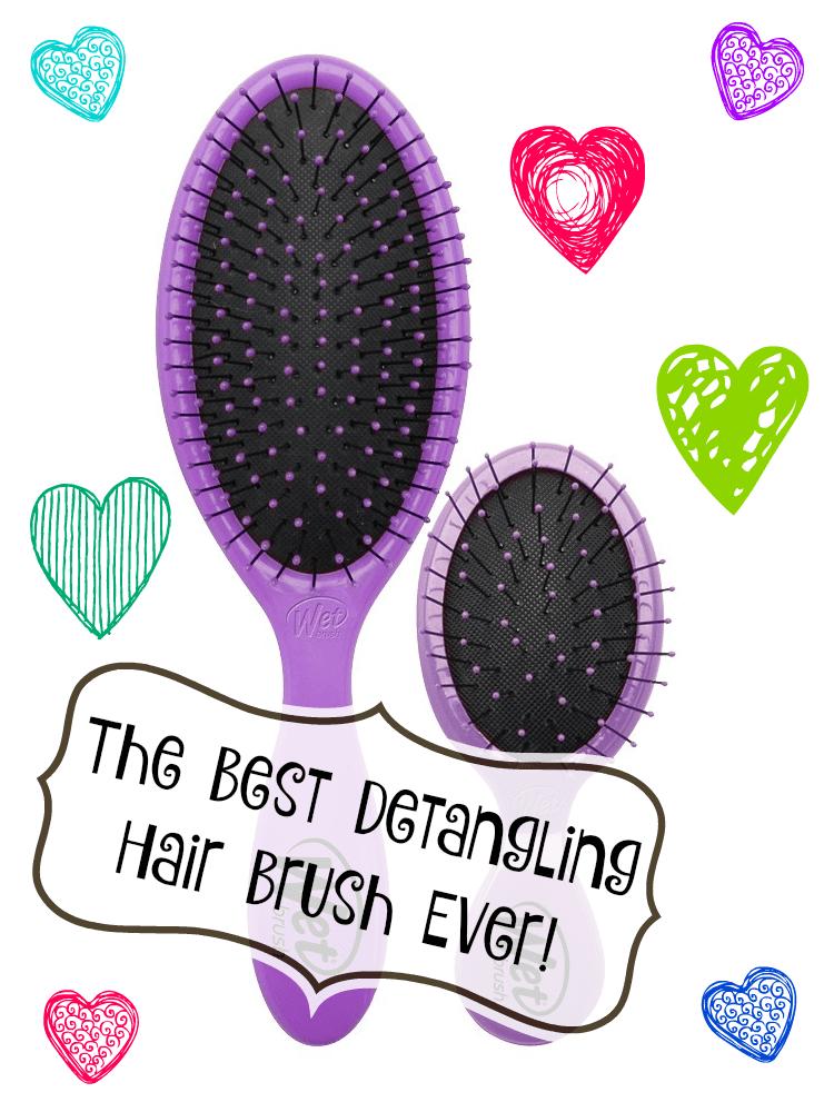 The Wet Brush is the best detangling brush ever!