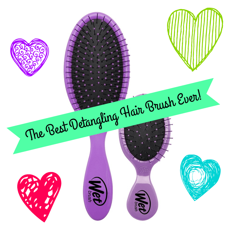 The Wet Brush hair brush set