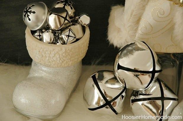 White Christmas Boot from Hoosier Homemade
