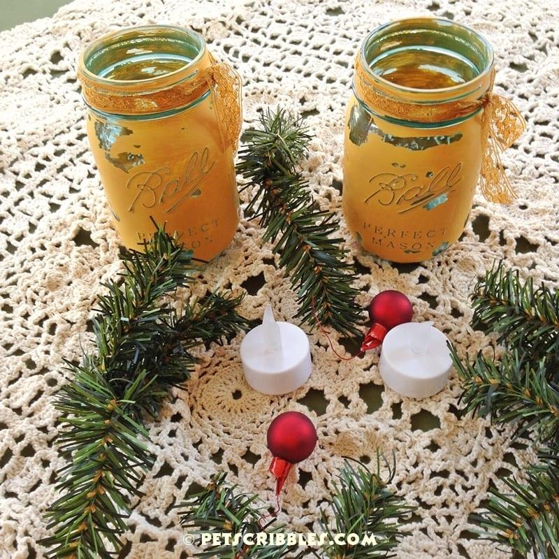 pine garland idea hack