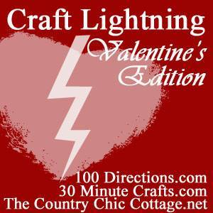 Craft Lightning Valentine's Day