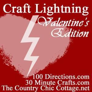 Craft Lightning Valentine's Day
