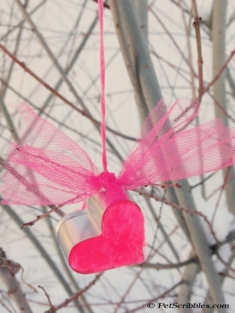 Easy Heart Cookie Cutter Ornament