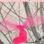 Heart Cookie Cutter Pom Pom Ornament in 5 minutes!