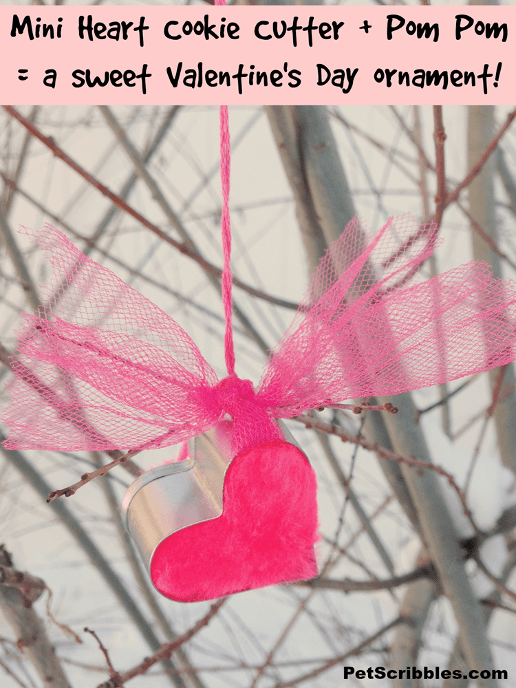 Mini Heart Cookie Cutter Ornament