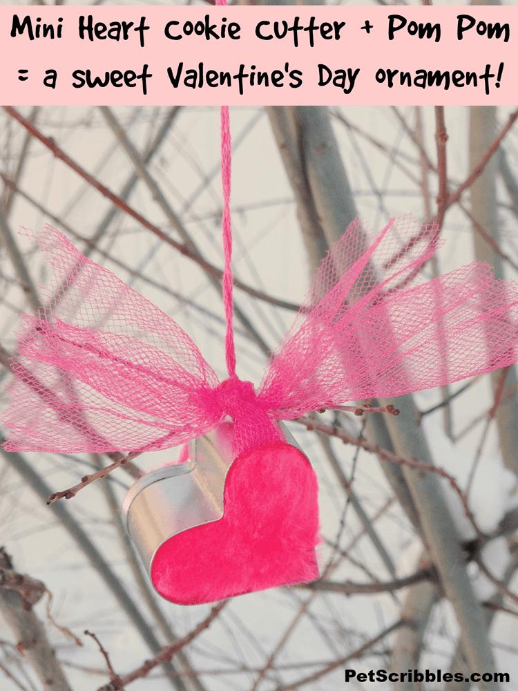 Mini Heart Cookie Cutter Ornament
