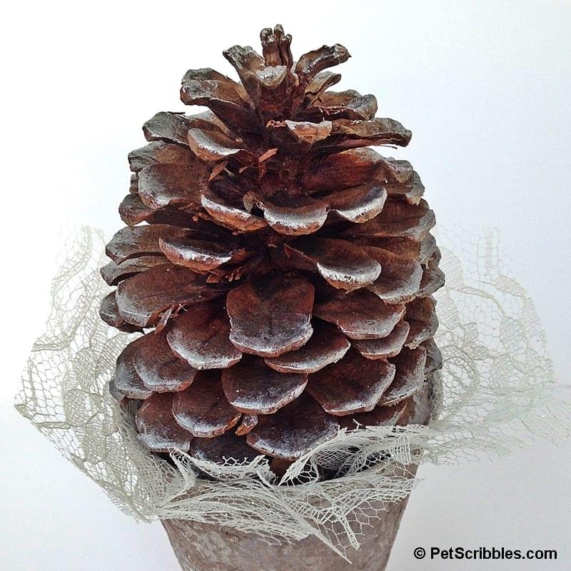 Woodland Pinecone Tree Craft