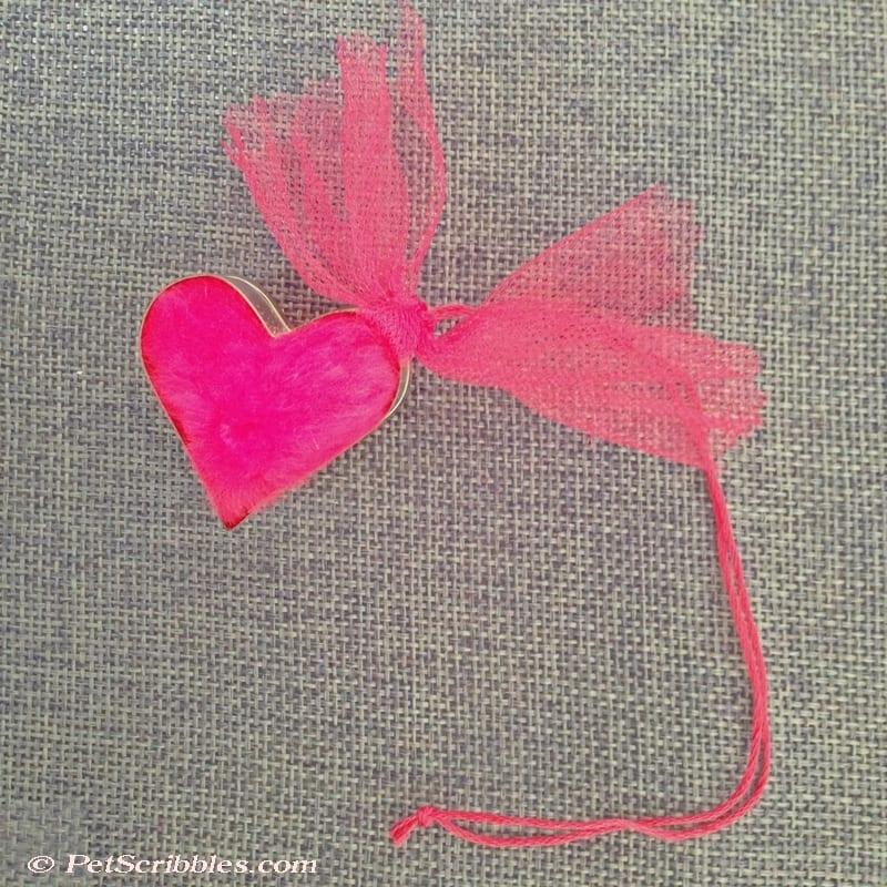 mini tin cookie cutter heart