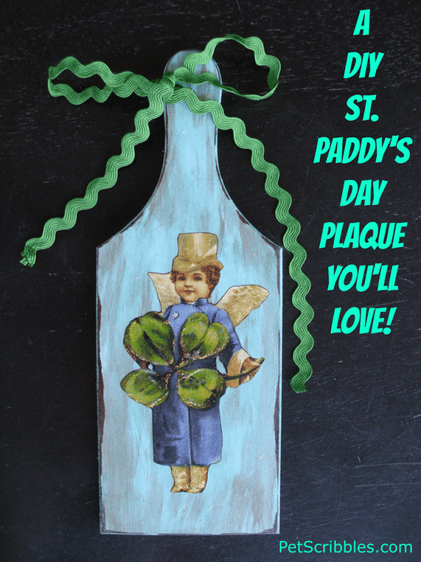 A DIY St. Patrick's Day Plaque You'll Love