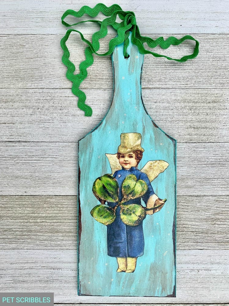 Vintage Leprechaun St. Patrick's Day Decor