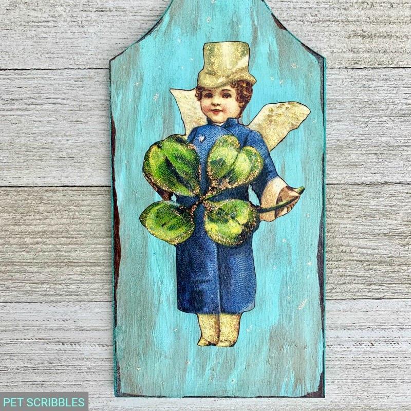 Vintage Leprechaun St. Patrick's Day decoration