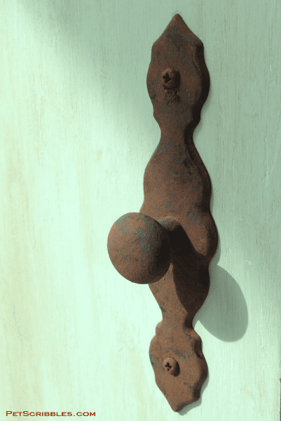 How To Paint Brass Hardware To Look Like Rust