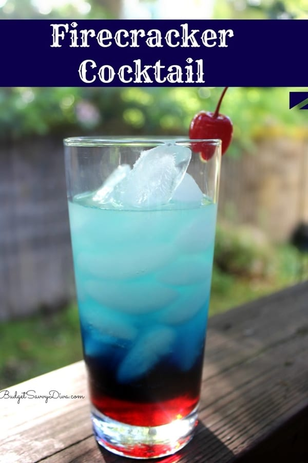 Firecracker Cocktail | Budget Savvy Diva