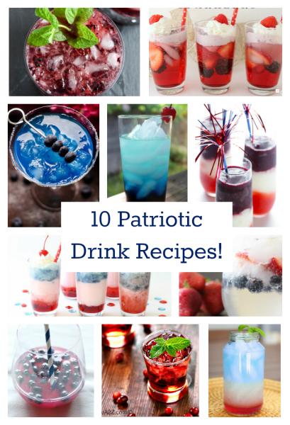 Top 10 Patriotic Drink Recipes