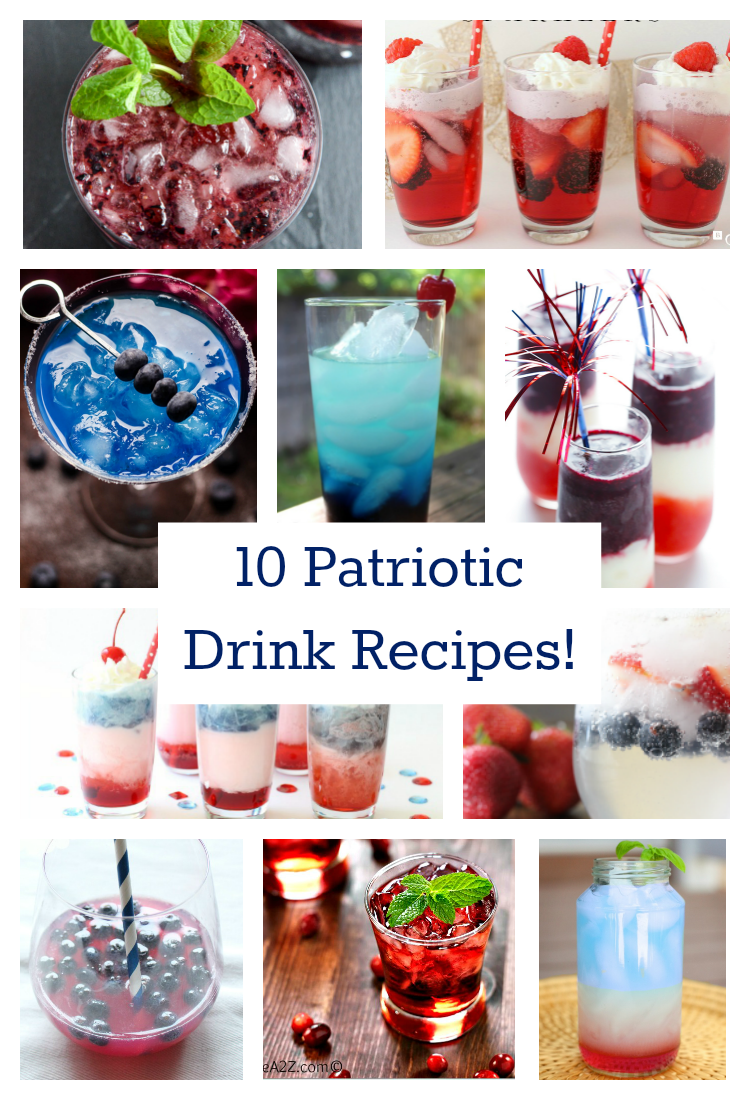 Top 10 Patriotic Drink Recipes