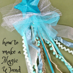 How to make a magic wand…because every girl should have one!
