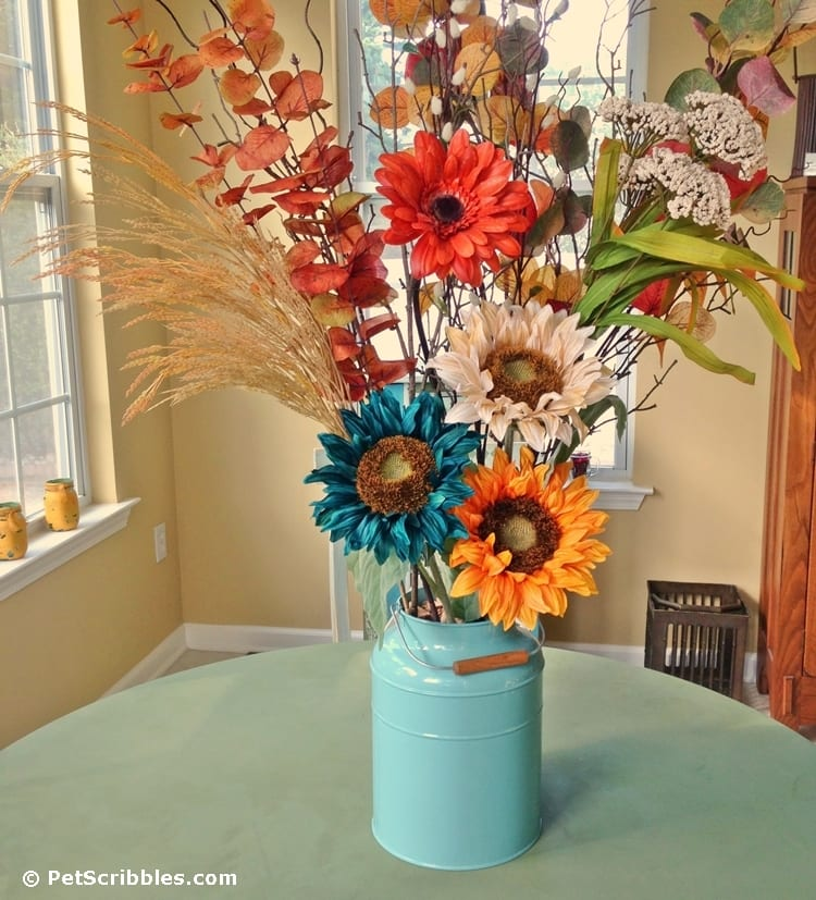 How to update your Fall floral arrangements with just a few new stems this year!