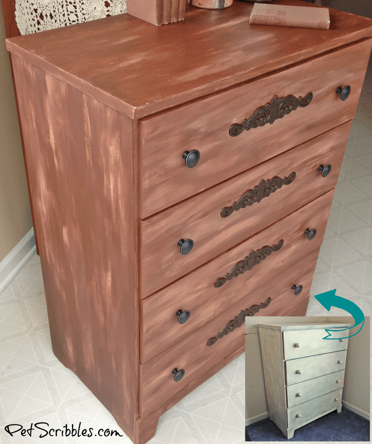 How to: Charming Rustic Dresser Makeover