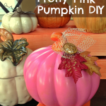 DIY Dollar Store Pumpkin Makeover
