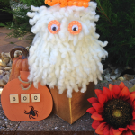 How to Make a Yarn Monster Popcorn Box