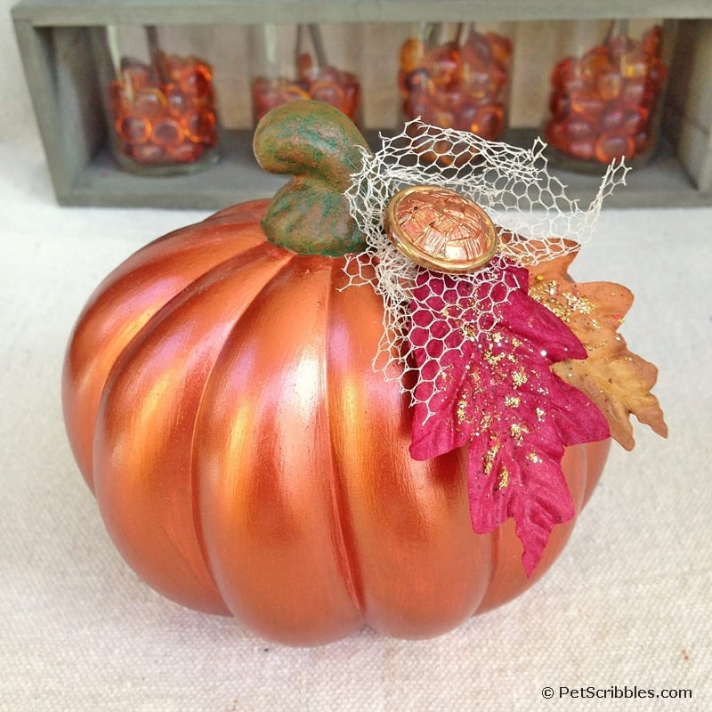 Can I repaint my painted pumpkins? Yes!