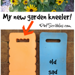My New Garden Kneeler: yes, my knees are happy!