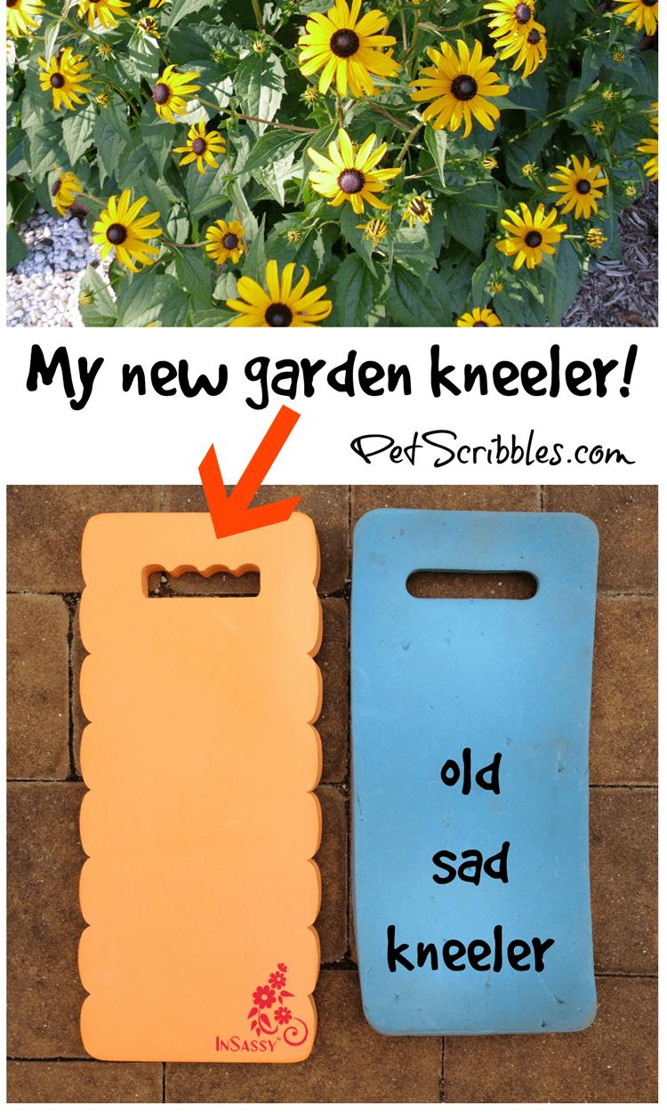 My New Garden Kneeler: yes, my knees are happy!