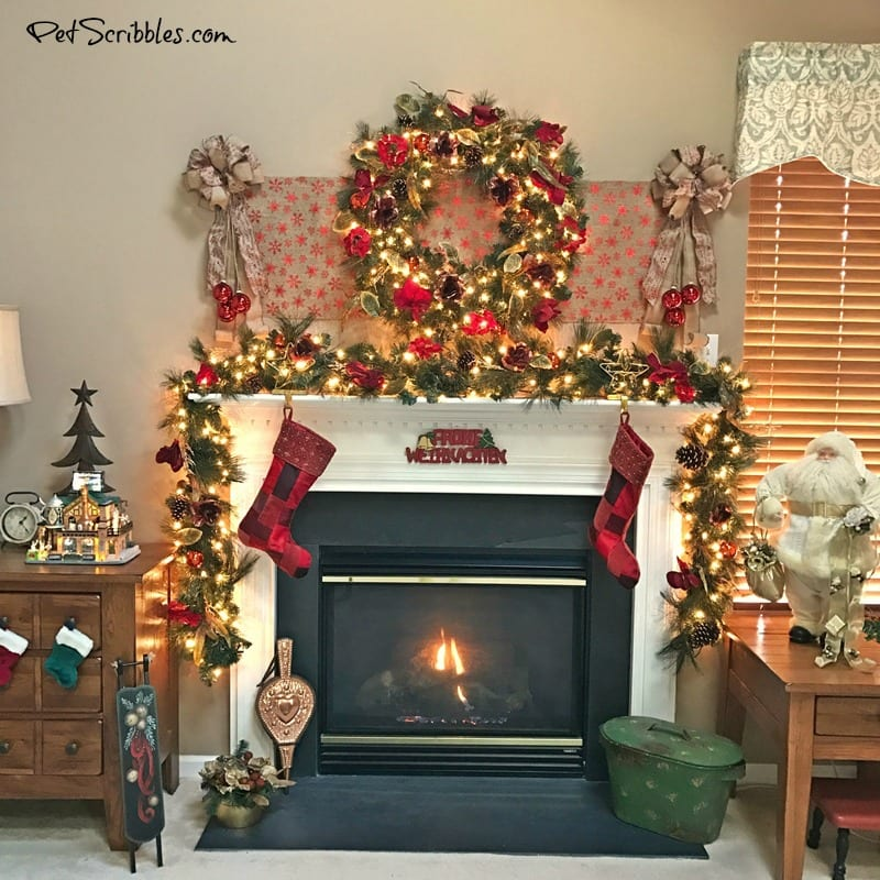 My Christmas Wreath And Garland Elegant Festive Magical