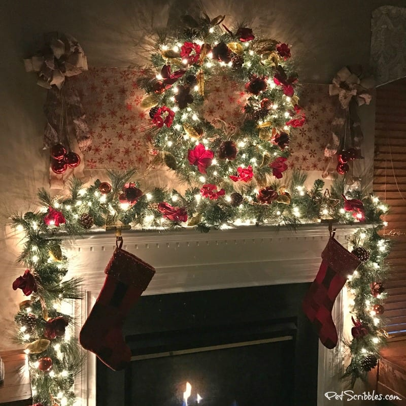 My Christmas Wreath and Garland: elegant, festive, magical!