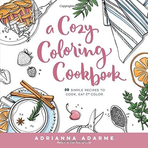 Cozy Coloring Cookbook
