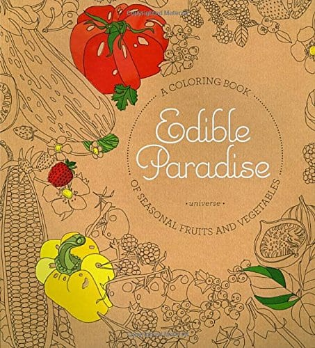 Edible Paradise Coloring Book