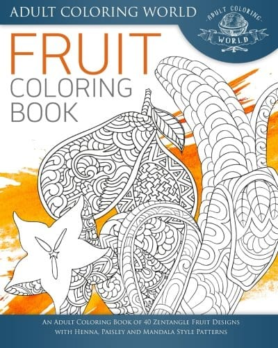 Fruit Coloring Book